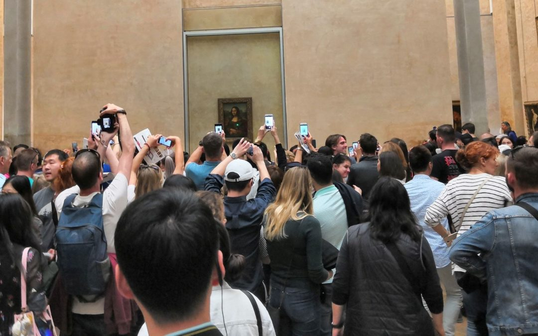S pametnim telefonom u najposjećenijem muzeju na svijetu