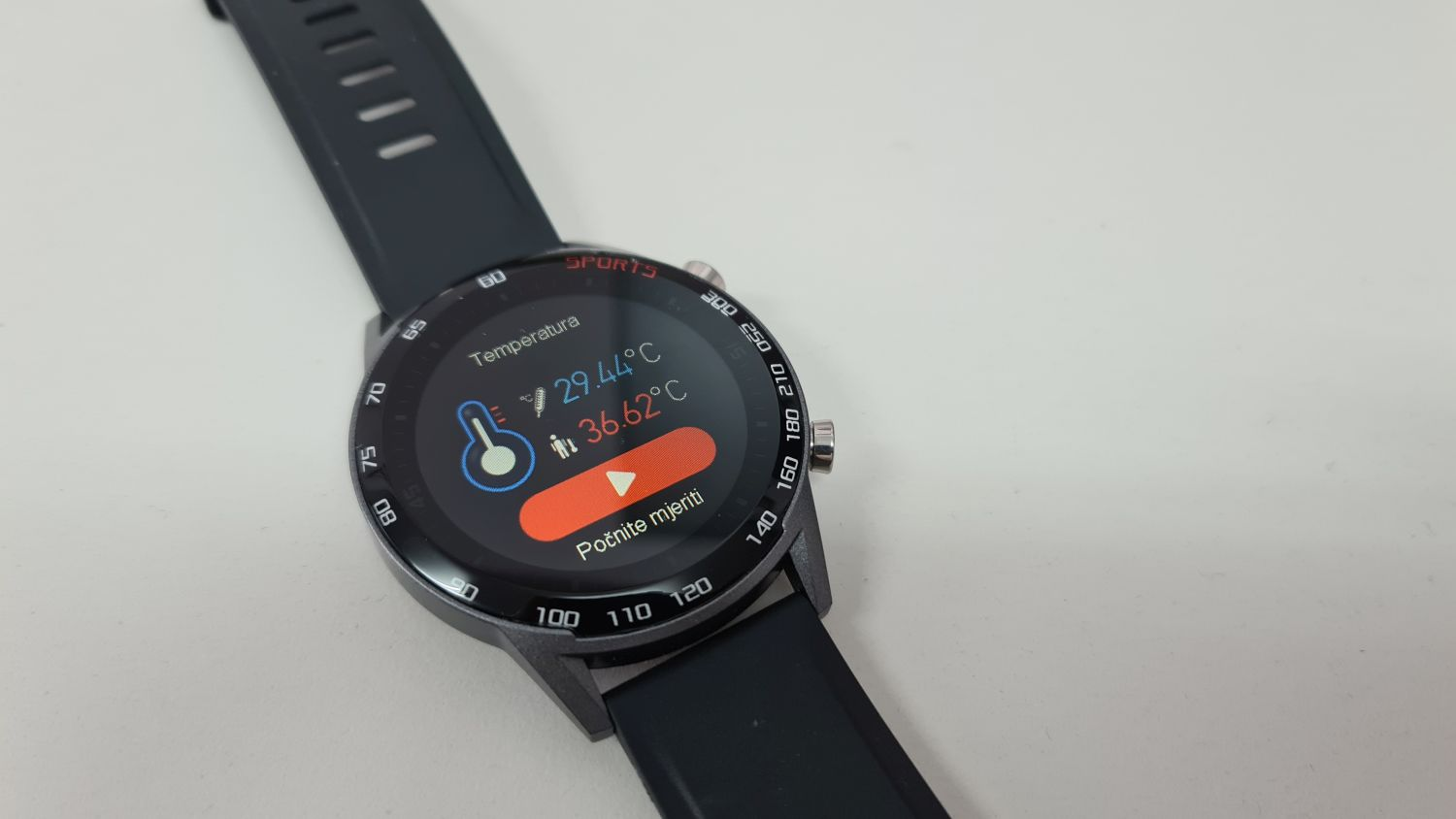 meanIT Smart Watch M20 Termo