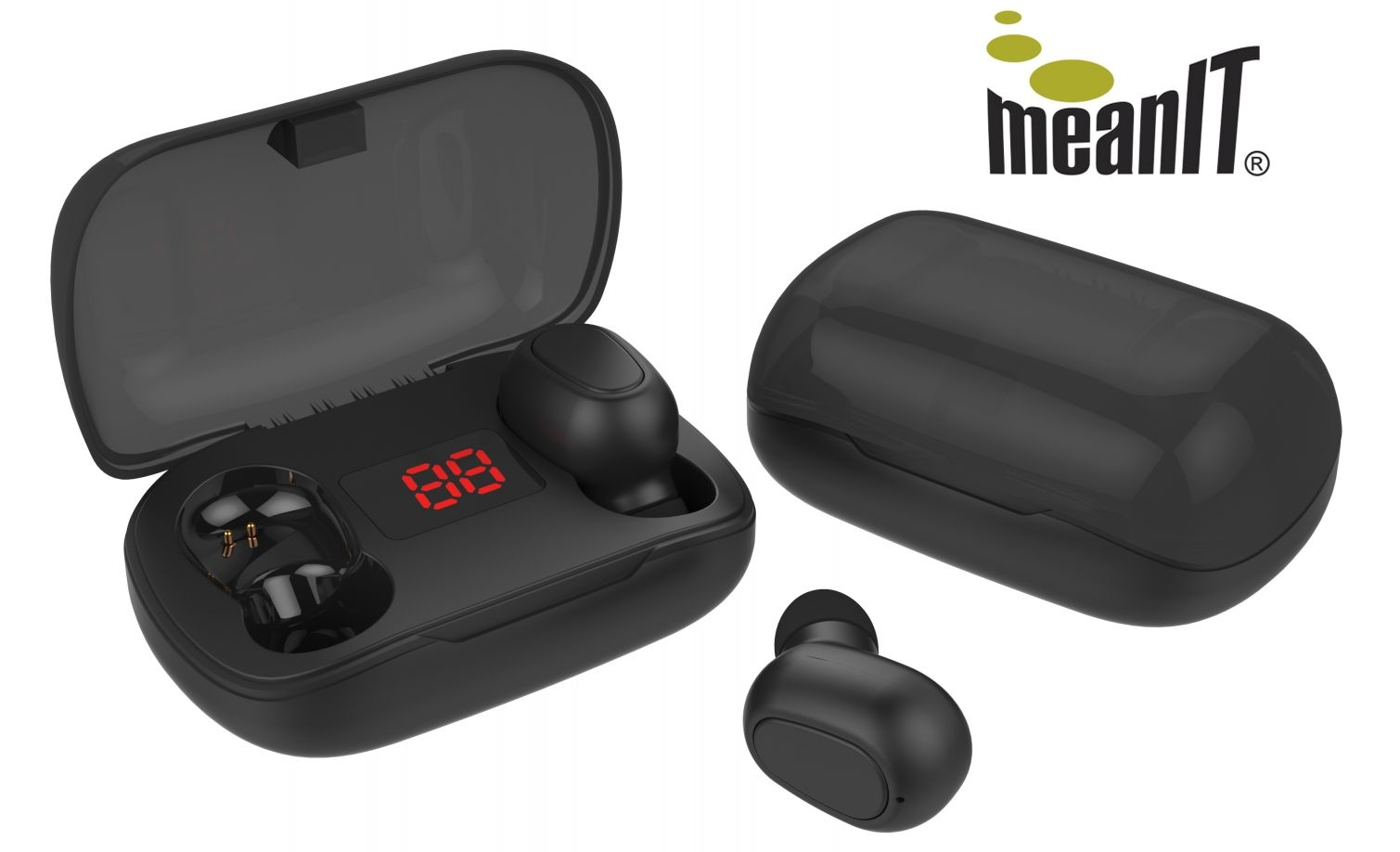 meanIT bežične stereo slušalice TWS B100