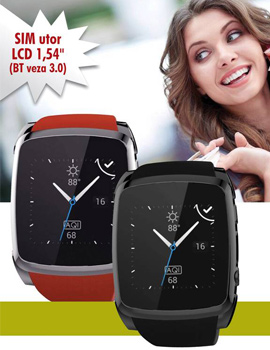 MEANIT SMART WATCH M1 - CRVENI